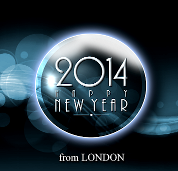 Happy New Year 2014 - London