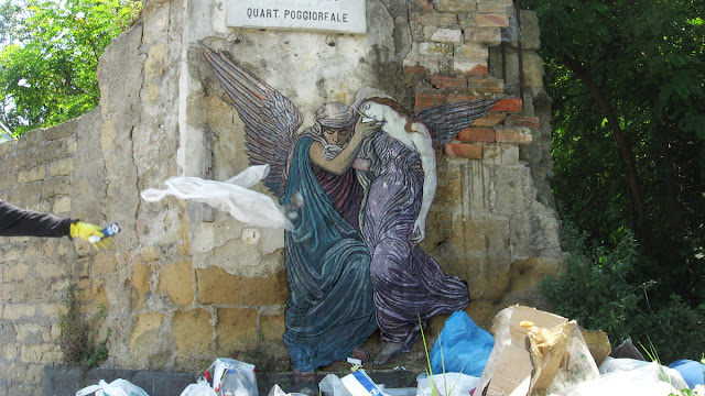 Zilda, street art, Naples, Fragiles Fabulae