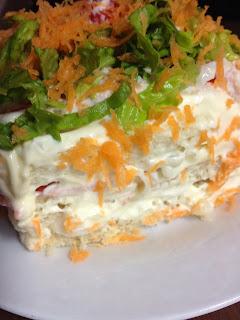 ¡Huele Bien!: Pastel de atún y palitos de cangrejo