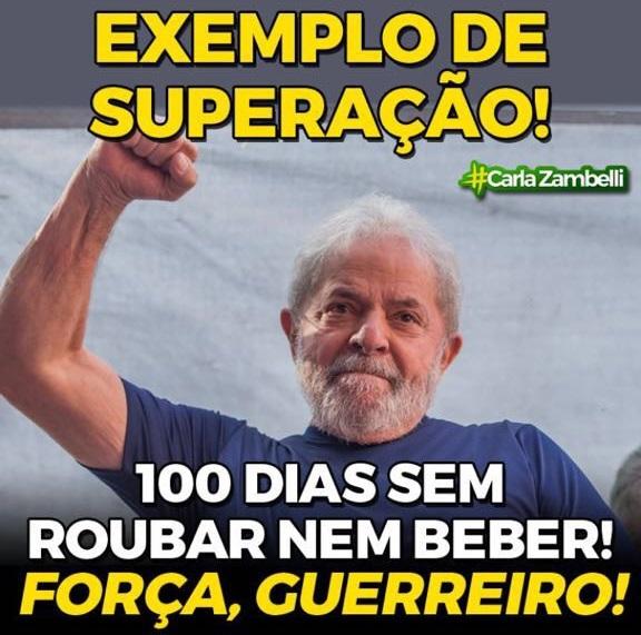 Lula NÃO entrou para a história e SIM  para cadeia...