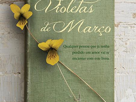 As Violetas de Março, Sarah Jio, Editora Novo Conceito