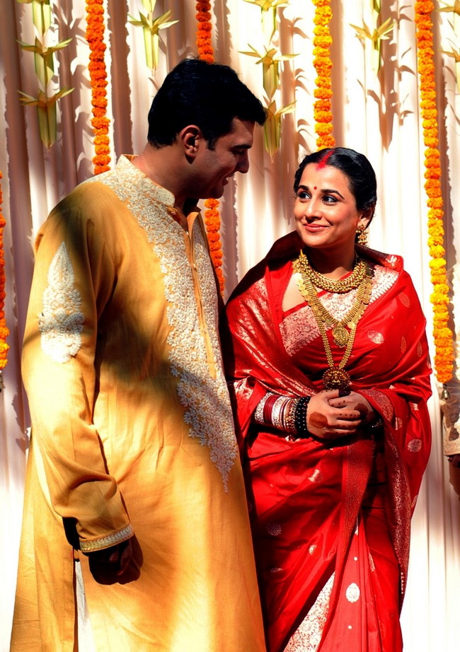 Vidya Balan Wedding Pics Celebrities Wedding Photos