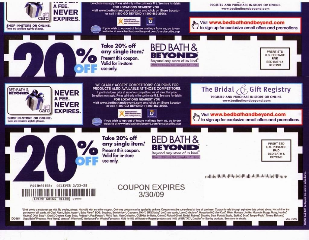 Retailmenot Bed Bath And Beyond In Store Coupon