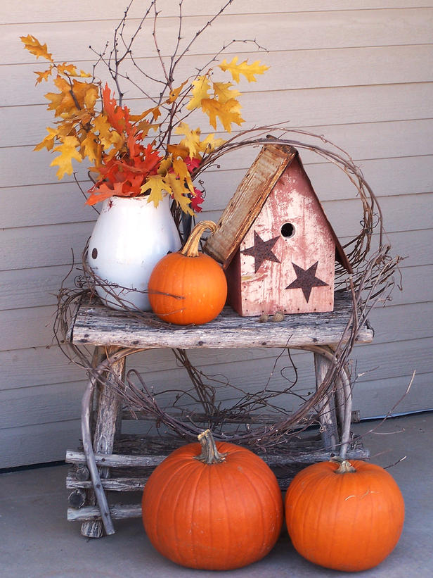 Life as it is decorating for fall for Cute cheap home decor
