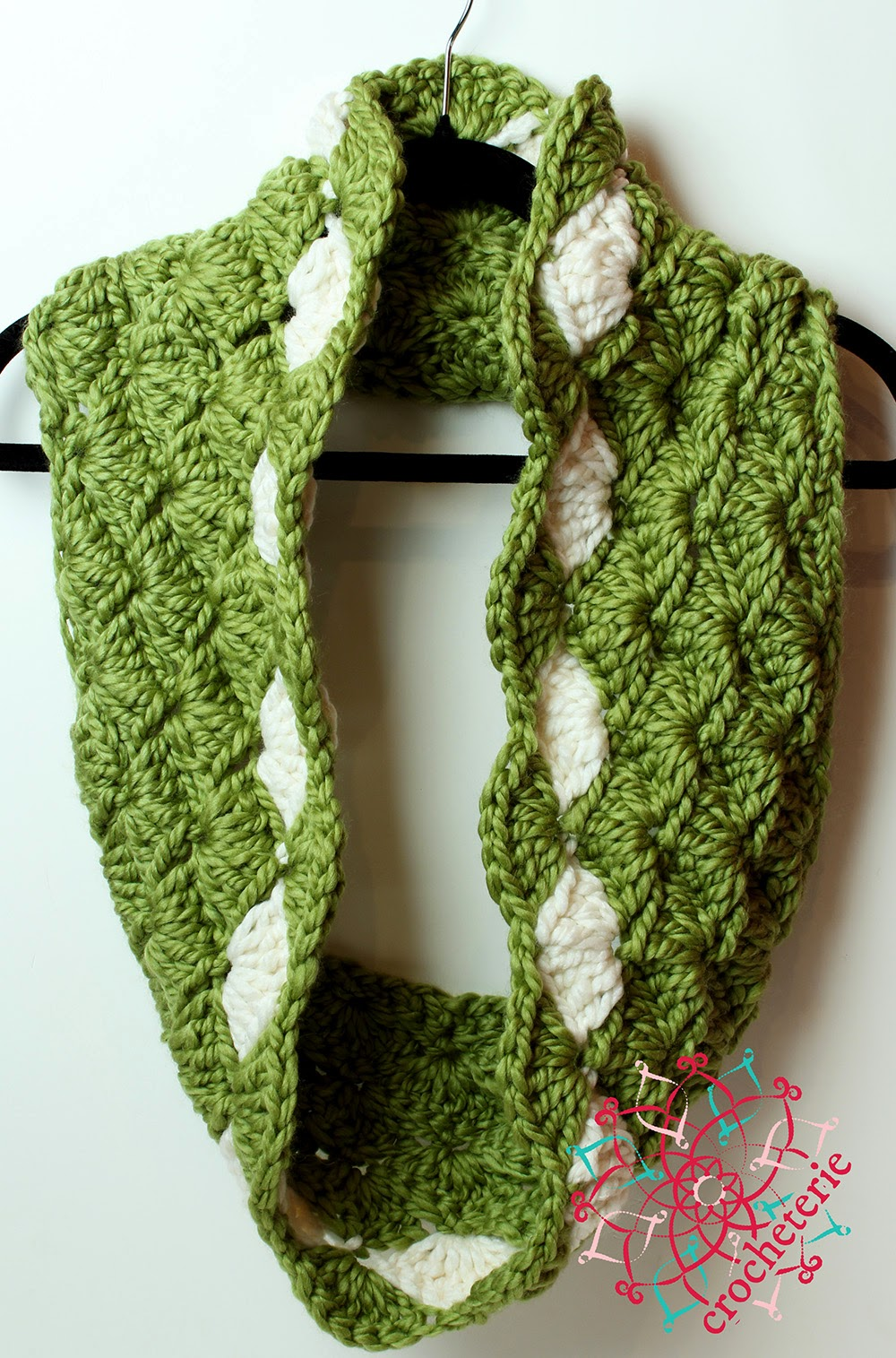 Free Crochet Pattern For Infinity Shawl : Yarn Twist
