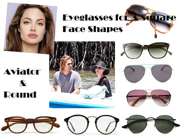 Glasses Frames For Square Face : square face shape glasses