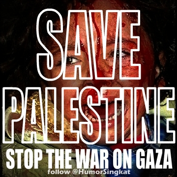DP BBM PRAY for Palestine Save GAZA