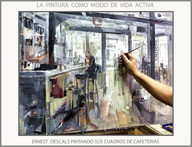 PINTURAS-CAFETERIAS-PINTAR-VIDA-PINTURA-CUADROS-CAFETERIA-PINTANDO-ARTISTA-PINTOR-ERNEST DESCALS-