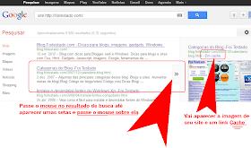 encontrar seu blog no cache do google