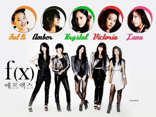 f(x) Girlband Yang Unik dari Korea