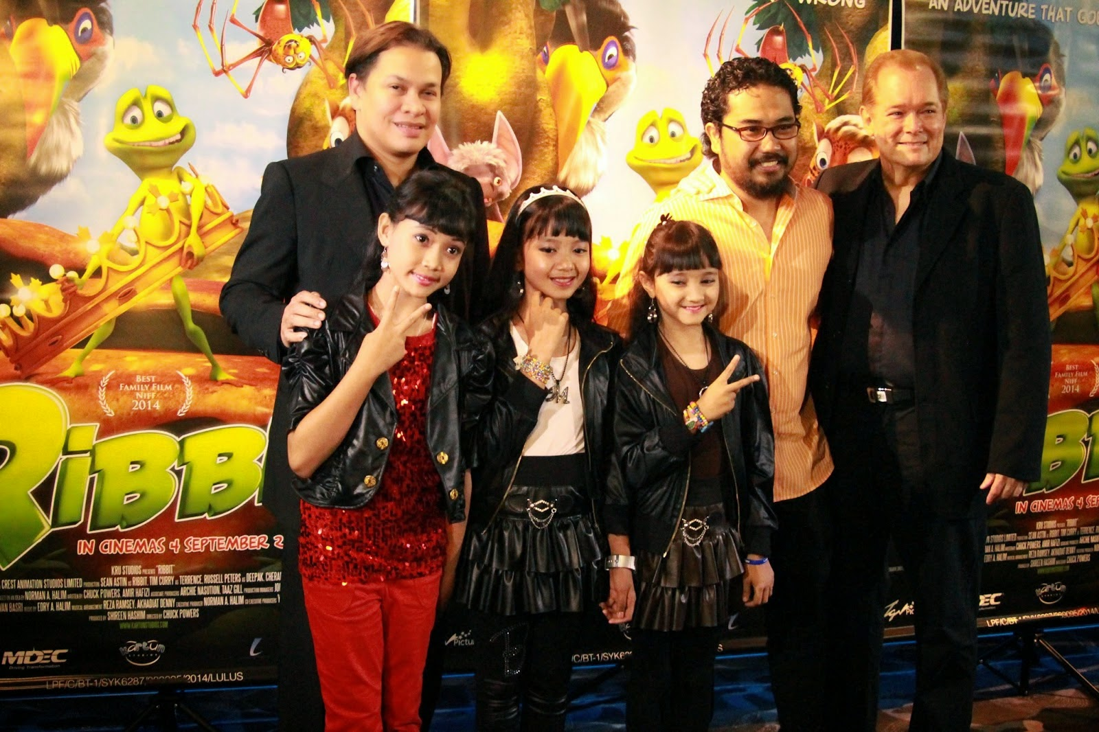 "Filem animasi 3D ""Ribbit"" versi Melayu selit pelbagai dialek , info, terkini, filem Animasi Ribbit,"