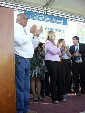 Inauguración  Parque Cultural Nestor Kirchner
