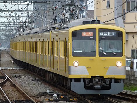 西武新宿線 急行 西武新宿行き 新101系(引退)