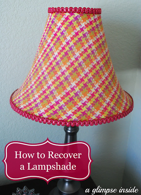http://www.aglimpseinsideblog.com/2013/04/how-to-recover-lampshade.html