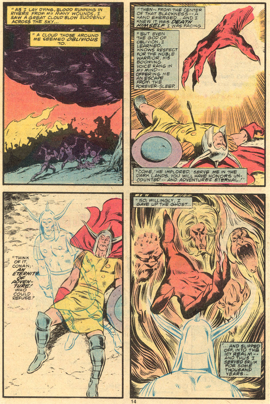 Conan the Barbarian (1970) Issue #120 #132 - English 13