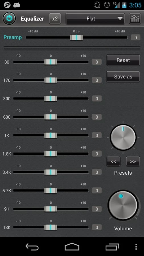 jetAudio Music Player+EQ Plus v5.4.0