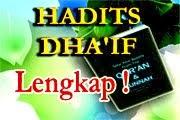 Hadits Dha'if