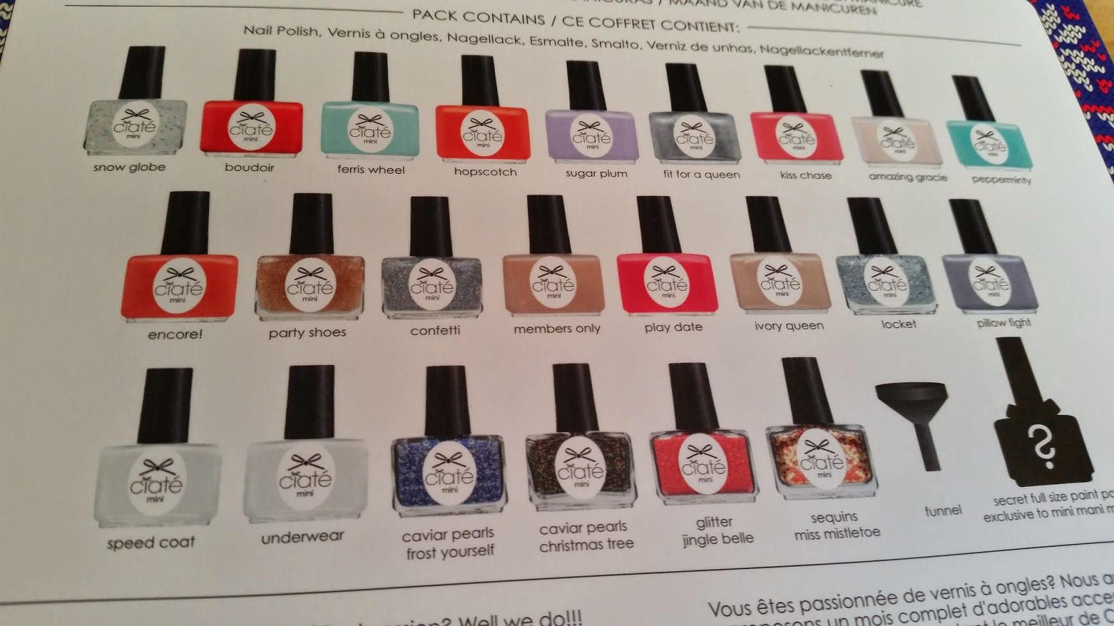 LoubouLush\'s Beauty Blog: Ciaté Mini Mani Advent Calendar from TK ...