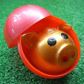 """""""Lokuloku Pig"""" Babi Emas Yang Bisa Melelehkan Badan Dengan Sendirinya"""