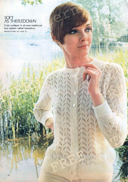The Vintage Pattern Files - Free 1960's Knitting Patterna - Three Womens Sweaters