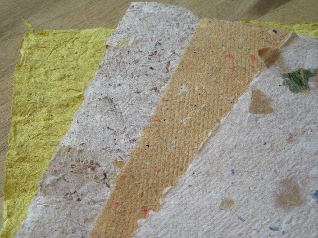 Hjemmelavet papir