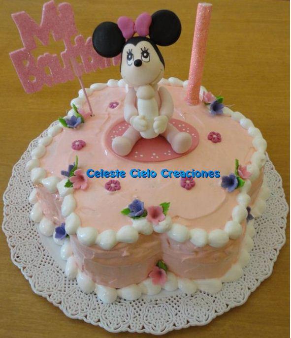 Celeste Cielo Creaciones: Tortas Decoradas: Minnie Baby