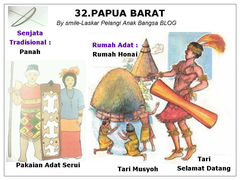 32. provinsi papua barat ibukota nya adalah kota manokwari
