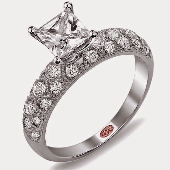 New Fashion Arrivals: Beautiful Diamond Ring Design For Girls USA 2014