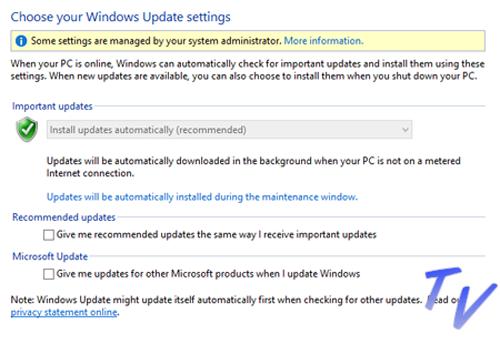 Default Windows 10 yang tidak ada pilihan disabel Auto Update