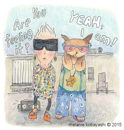 Sketch, turnip head, Are you feeling it?, Mel Kobayashi