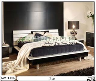 Tempat tidur modern minimalis model eve