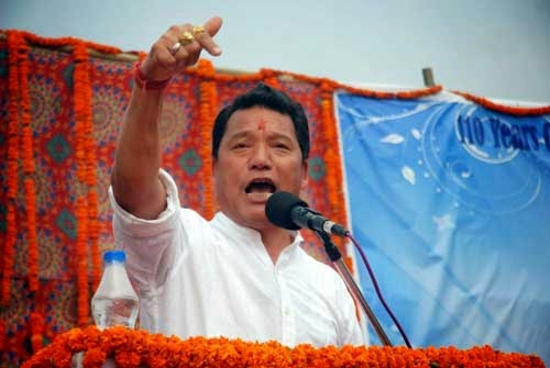 GTA chief, Bimal Gurung