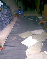 proses pembuatan pola produk celana jeans