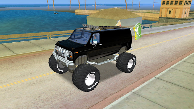 Ford E-250 Monster Truck 1986 GTA Vice City