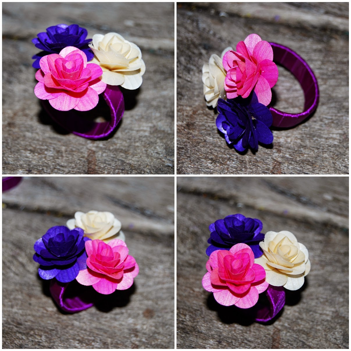 Diy How To Make Napkin Rings Using Empty Floral Tape Cores Reduce