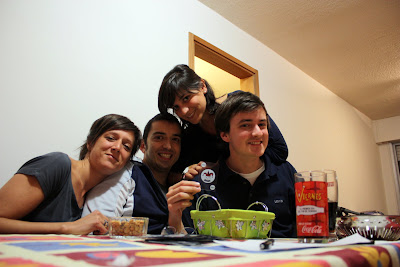 asado en compañía uruguaya