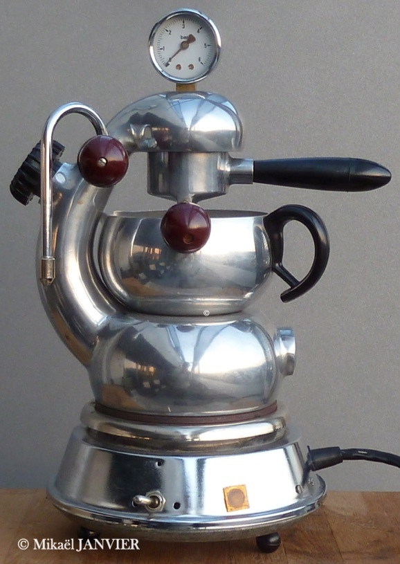 duralux vintage coffee maker