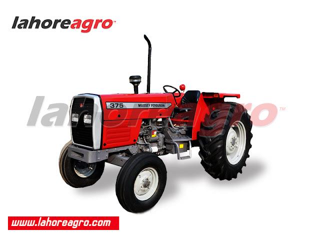 Tractor, Farm Tractor, Massey Ferguson MF 375