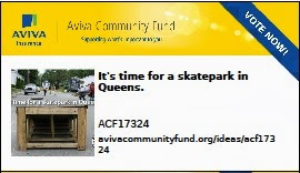 VOTE Skatepark for Queens!