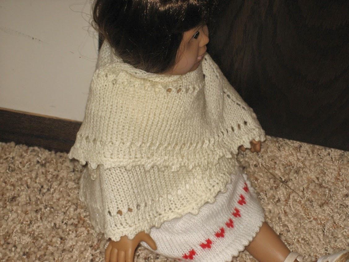 Doll Shawl