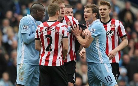 Prediksi Sunderland vs Man City