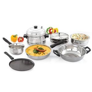 PayTM  : Buy Mahavir Cookware with Extra 50% Cashback : BuyToEArn