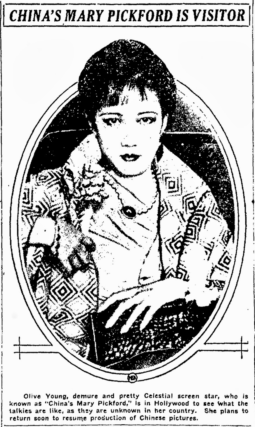 Olive Young (actress)