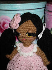 Mini Free Spirit Crochet Doll...Get This Free Pattern Just Click On Image