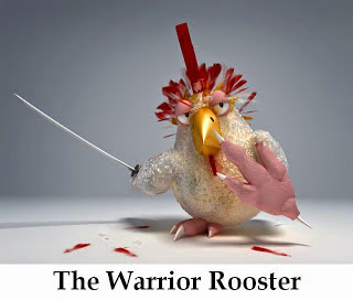 The Warrior Rooster