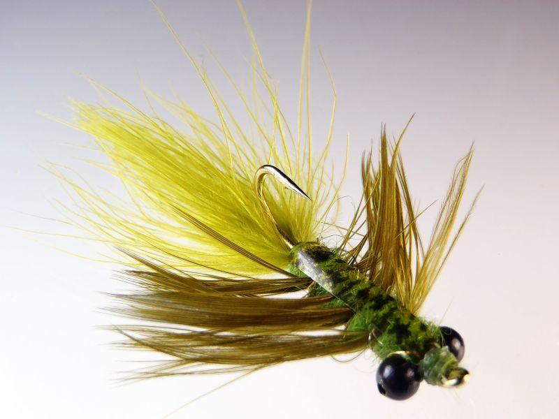 Mark Erdosy;s Damsel Bugger Carp Fly
