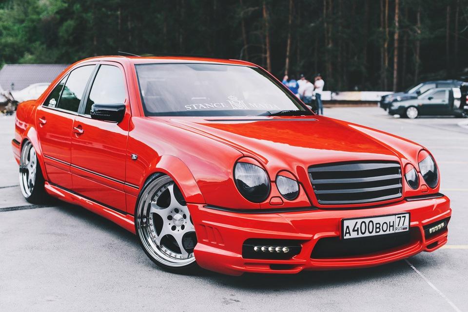 Mercedes benz w210 e55 amg on 20 kleemann ts 6 wheels for Mercedes benz tuning parts