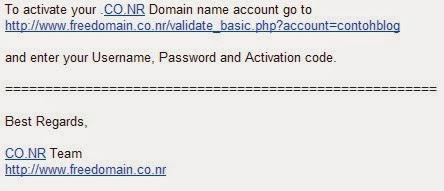 Gratis! Ganti URL Blog dengan Nama Domain Sendiri