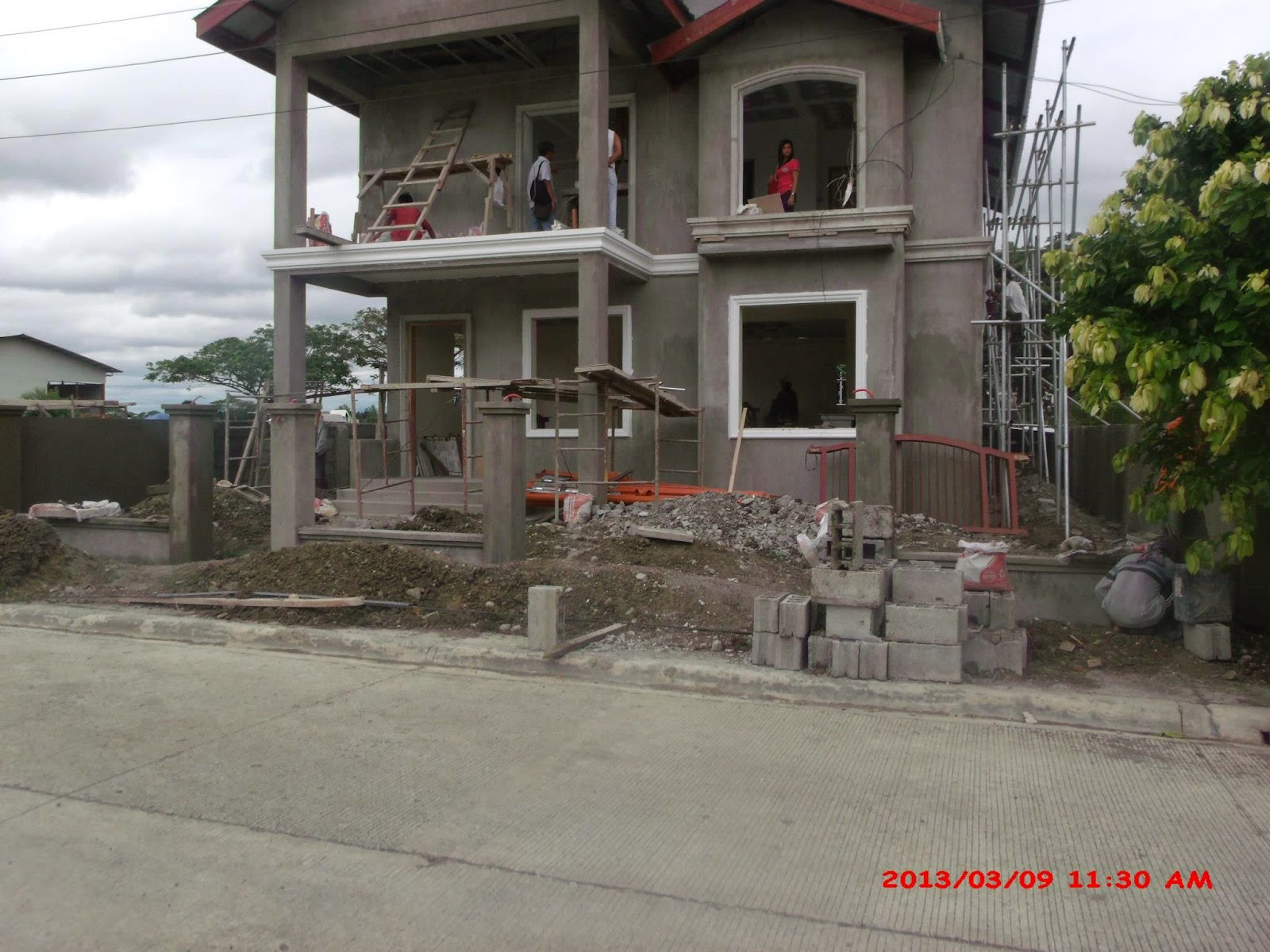 Savannah trails house construction project in oton iloilo for Cheap house design philippines