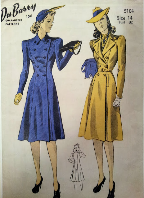 40s DuBarry home sewing pattern